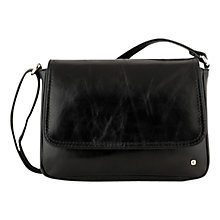 Buy Tula Originals Small Leather Flapover Across Body Bag Online at johnlewis.com