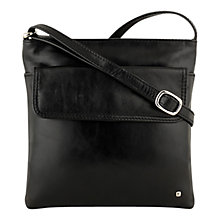 Buy Tula Originals Medium Across Body Leather Bag, Black Online at johnlewis.com
