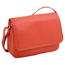 Buy Tula Originals Large Flapover Leather Across Body Bag Online at johnlewis.com