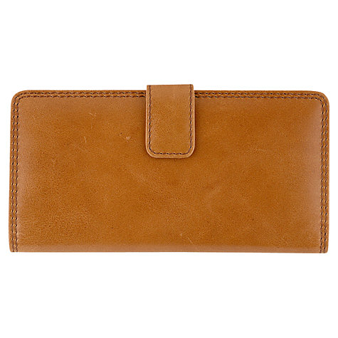 Buy Tula Originals Large Leather Matinee Purse, Tan Online at johnlewis.com