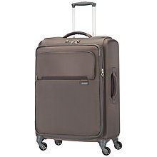 Buy Samsonite Lumo 2-Wheel Medium Suitcase, Bronze Online at johnlewis.com