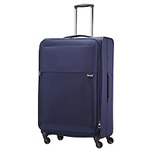 Buy Samsonite Short Lite 4 Wheel 76cm Large Spinner Suitcase Online at johnlewis.com