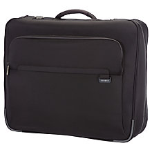 Buy Samsonite Lumo Garment Bag, Black Online at johnlewis.com