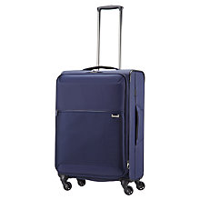 Buy Samsoninte Short-Lite 4-Wheel 66cm Medium Suitcase, Blue Online at johnlewis.com