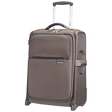 Buy Samsonite Lumo 2-Wheel 55cm Cabin Suitcase, Bronze Online at johnlewis.com