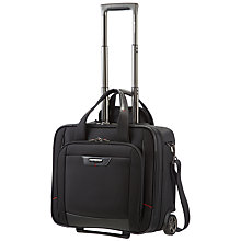 Buy Samsonite Pro-DLX 4 Rolling Tote, Black Online at johnlewis.com