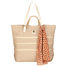 Buy Nica Cara Canvas Tote Bag, Neutral Online at johnlewis.com