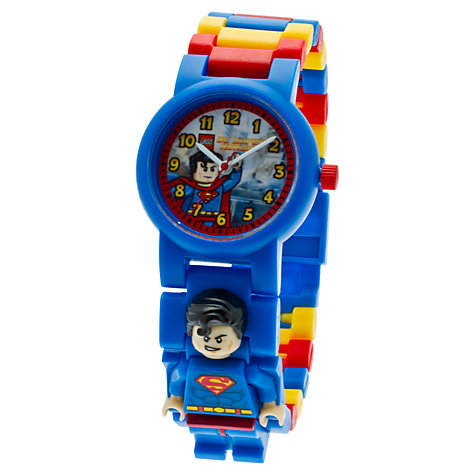 Buy LEGO Superman Watch Online at johnlewis.com
