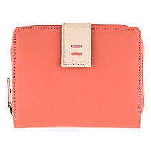 Buy Tula Violet Medium Leather Zip Wallet Purse, Sorbet Online at johnlewis.com