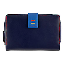 Buy Tula Violet Leather Large Zip Purse Online at johnlewis.com
