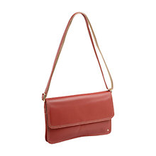 Buy Tula Originals Premium Multiway Leather Across Body Bag, Pink Online at johnlewis.com