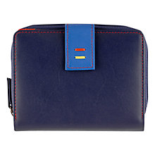 Buy Tula Violet Medium Leather Zip Wallet Purse Online at johnlewis.com