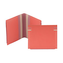 Buy Tula Violet Small Credit Card Holder, Sorbet Online at johnlewis.com