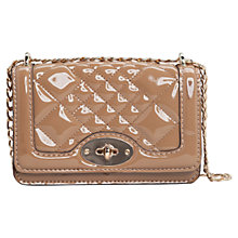 Buy Mango Quilted Patent Across Body Bag Online at johnlewis.com