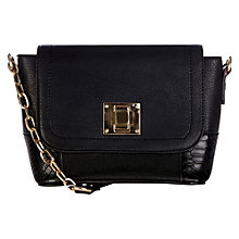 Buy Oasis Skye Satchel, Black Online at johnlewis.com