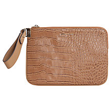 Buy Mango Medium Mock Croc Clutch Handbag Online at johnlewis.com