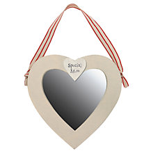 Buy East of India Special Mum Heart Mirror Online at johnlewis.com