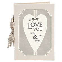 Buy East of India Love You Photo Album Online at johnlewis.com