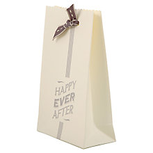 Buy East of India Happy Ever After Wedding Favour Bags, Pack of 6, White Online at johnlewis.com