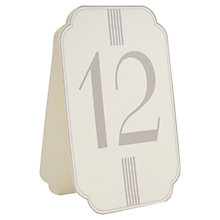 Buy East of India Set Table Numbers, 1-12 Online at johnlewis.com