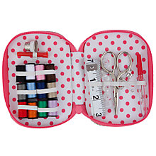 Buy John Lewis Vintage Rose Travel Sewing Kit, Multi Online at johnlewis.com