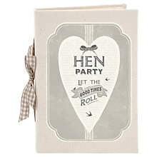 Buy East of India Hen Party Photo Album Online at johnlewis.com