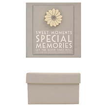 Buy East of India Memory Box, Grey Online at johnlewis.com