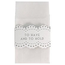 Buy East of India Set Wax Favour Envelopes, Pack of 10, Clear Online at johnlewis.com
