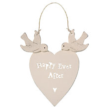 Buy East of India Happy Ever After Hanging Decoration Online at johnlewis.com
