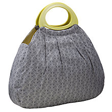 Buy John Lewis Cummersdale Big Sewing Bag, Steel Online at johnlewis.com