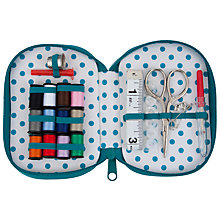 Buy John Lewis Multi Square and Spot Sewing Kit, Blue Multi Online at johnlewis.com