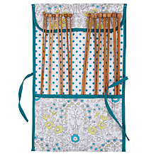 Buy John Lewis Daisy Chain Knitting Roll, Teal Online at johnlewis.com
