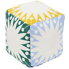 Buy John Lewis Multi Square Cube Pin Cushion, Multi Blue Online at johnlewis.com