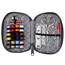 Buy John Lewis Cummersdale Zip Sewing Kit, Citrine Online at johnlewis.com