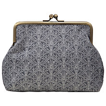 Buy John Lewis Cummersdale Snap Purse, Steel Online at johnlewis.com