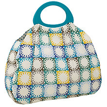 Buy John Lewis Squares Sewing Bag, Multi Online at johnlewis.com
