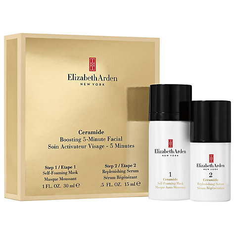 Buy Elizabeth Arden Ceramide 5 Minute Facial Set Online at johnlewis.com