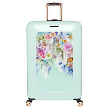 Buy Ted Baker Sugar Sweet 4-Wheel 79.5cm Large Suitcase, Mint Online at johnlewis.com