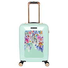 Buy Ted Baker Sugar Sweet 4-Wheel 54cm Cabin Suitcase, Mint Online at johnlewis.com