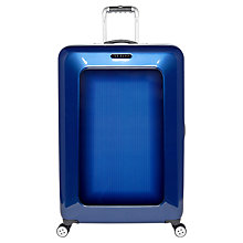 Buy Ted Baker Herringbone 4-Wheel 79.5cm Large Suitcase Online at johnlewis.com