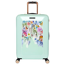 Buy Ted Baker Sugar Sweet 4-Wheel 69.5cm Medium Suitcase, Mint Online at johnlewis.com