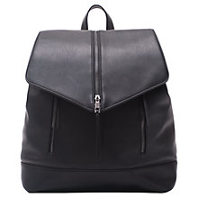 Buy French Connection Dalia Backpack, Black Online at johnlewis.com