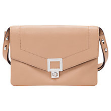 Buy French Connection Lou Leather Small Shoulder Bag Online at johnlewis.com