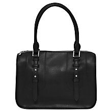 Buy French Connection Clarissa Shoulder Handbag, Black Online at johnlewis.com