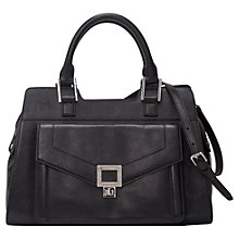 Buy French Connection Ruby Handheld Leather Tote Handbag Online at johnlewis.com