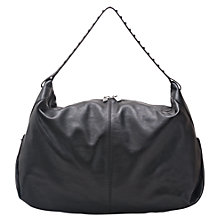 Buy French Connection Gracie Shoulder Handbag, Black Online at johnlewis.com