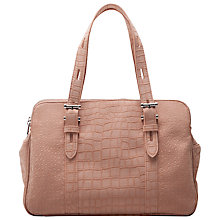 Buy French Connection Nina Tote Handbag, Dusty Melon Online at johnlewis.com