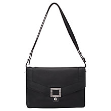 Buy French Connection Lou Leather Small Shoulder Handbag Online at johnlewis.com
