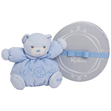 Buy Kaloo Perle Bear Plush, Small, Blue Online at johnlewis.com