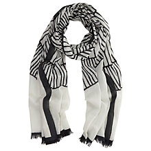 Buy Mint Velvet Kora Print Scarf, Multi Online at johnlewis.com